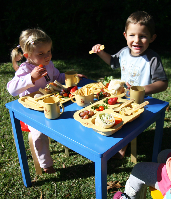 Eco-Friendly Kids Mother's Corn growing up set picnic