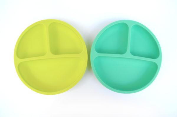 Lunart Eco Friendly Kids Silicone Bowl set