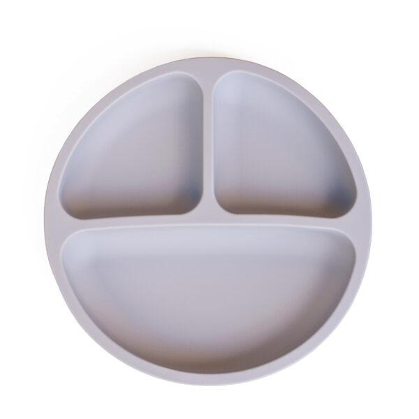 Lunart Silicone Plate Set Mint-Grey-Main